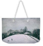 My Wintry Homey Snowy Planet Weekender Tote Bag