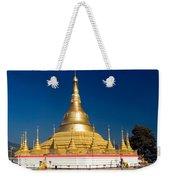 Myanmar Temple Weekender Tote Bag