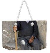 Mykonos Man With Walking Stick Weekender Tote Bag