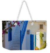 Mykonos Staircase Weekender Tote Bag