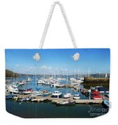 Mylor Marina Cornwall Weekender Tote Bag
