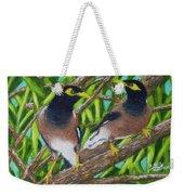 Mynah Birds #474 Weekender Tote Bag