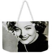 Myrna Loy Weekender Tote Bag