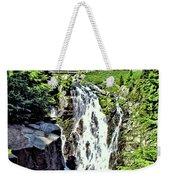 Myrtle Falls And Mount Rainier Weekender Tote Bag