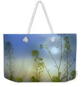 Mysterious Forest At Dusk Blue Weekender Tote Bag