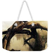Mysterious Marsh Weekender Tote Bag