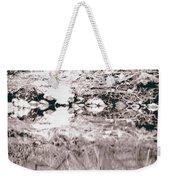 Mysterious Waterline Weekender Tote Bag