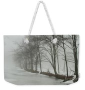 Mysterious Winter  Weekender Tote Bag