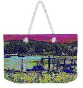Mystery Bay At Sunset Weekender Tote Bag