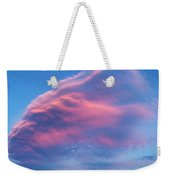 Mystery Cloud Weekender Tote Bag