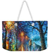 Mystery Of The Night Weekender Tote Bag