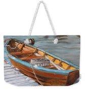 Mystic Fishing Boat Weekender Tote Bag