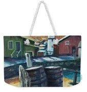 Mystic Harbor Weekender Tote Bag