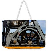 Mystic Seaport Draw Bridge Weekender Tote Bag