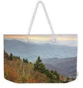 Blue Ridge Mountain 3 Weekender Tote Bag