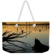 Mystical Sunrise On The Lake Weekender Tote Bag