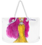 Mzia Meisouri. Beauty Girl From Space Weekender Tote Bag