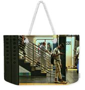 N Y C Subway Scene # 9 Weekender Tote Bag