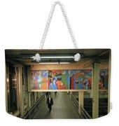 N Y C Subway Scenes # 45 Weekender Tote Bag
