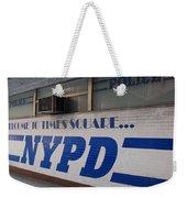 N Y P D Blue Weekender Tote Bag