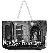 N Y P D Weekender Tote Bag