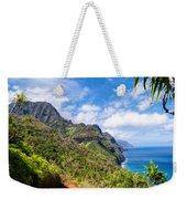 Na Pali Coast Kauai Weekender Tote Bag