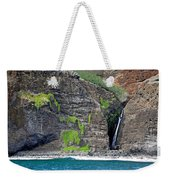 Na Pali Waterfall Weekender Tote Bag