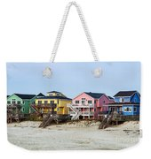 Nags Head Beach Houses Weekender Tote Bag