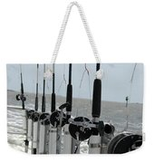 Nags Head Nc Fishing Poles Weekender Tote Bag