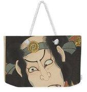 Nakamura Utaemon IIi In De Rol Van Gotobei Moritsugu, Kunisada I, Utagawa, 1863 Weekender Tote Bag
