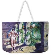 Naked In The Cloisters Weekender Tote Bag