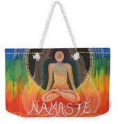 Namaste' Weekender Tote Bag