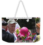 Namesake Weekender Tote Bag