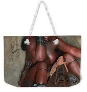 Namibia Tribe 1 Weekender Tote Bag