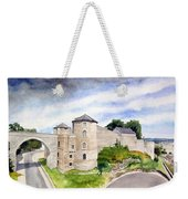 Namur, Citadelle Et Pont Des Hollandais Weekender Tote Bag