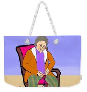 Nana Knitting Weekender Tote Bag