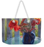 Nancy's Begonias Weekender Tote Bag