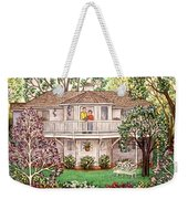 Nancy's House Weekender Tote Bag