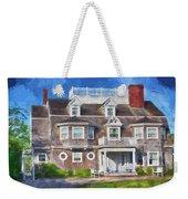 Nantucket Architecture Series 28 Weekender Tote Bag