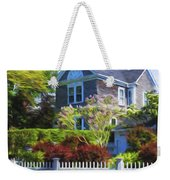 Nantucket Architecture Series 7 - Y1 Weekender Tote Bag