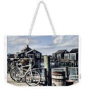 Nantucket Bikes 1 Weekender Tote Bag by Tammy Wetzel