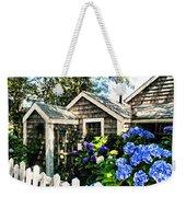 Nantucket Cottage No.1 Weekender Tote Bag