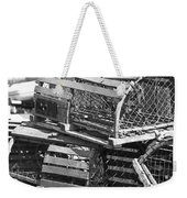 Nantucket Lobster Traps Weekender Tote Bag