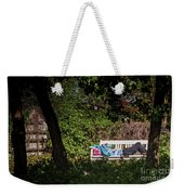 Nap On A Park Bench Weekender Tote Bag