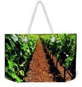 Napa Rows Of Grapes Weekender Tote Bag