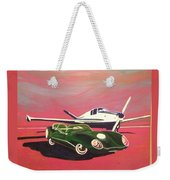 Napa Valley Lotus And Bonanza Beechcraft Weekender Tote Bag
