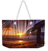 Napili Bay Sunset Maui Hawaii Weekender Tote Bag