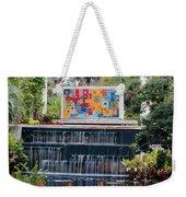 Naples Botanical Waterfall - Refreshing Garden Weekender Tote Bag