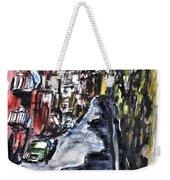 Naples City Street Weekender Tote Bag by Clyde J Kell