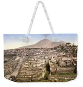 Naples: Mt. Vesuvius Weekender Tote Bag